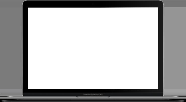 Ansicht Website-Referenz auf dem Laptop